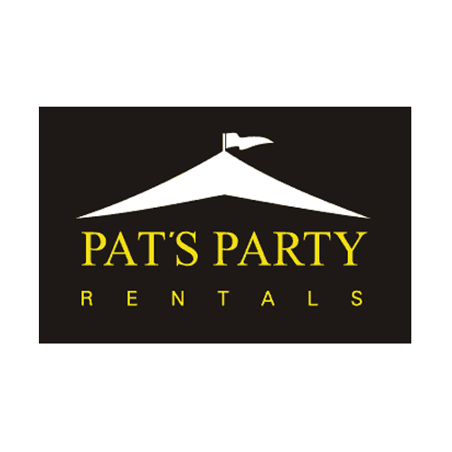 Pat's Party Rentals logo